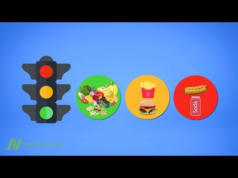Dining by Traffic Light: Green Is for Go, Red Is for Stop