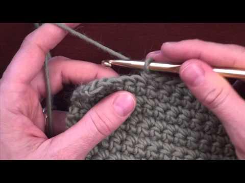 Crochet Decreases: Decreasing 2 Stitches in Single or Half Double Crochet