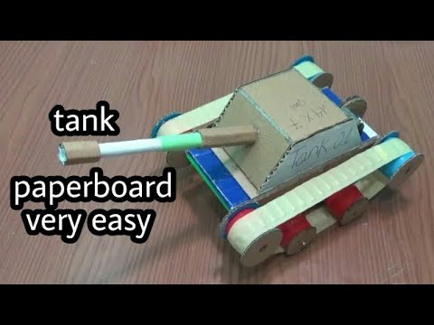 tank paper / how to make tank from paperboard [newcd]