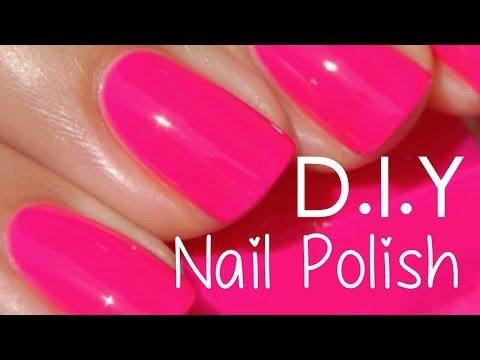 Make your own nail polish?!!! DIY