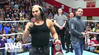 The Hardy Boyz Bring WWE Titles to IWC Wrestling!