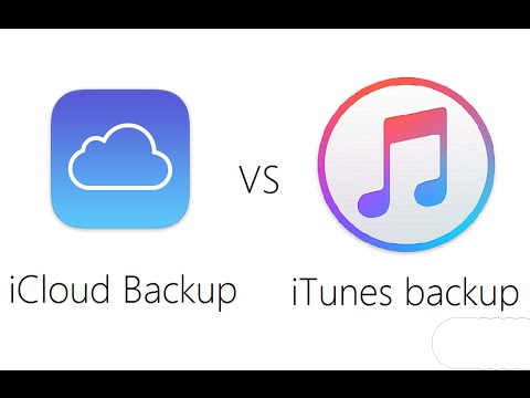 Jeff Explains Difference Between iCloud & iTunes Backup - Recover Files