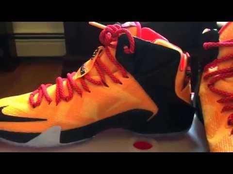Nike LeBron 12 Elite  Team  - University Red White Black Laser ... 2b1ffe269