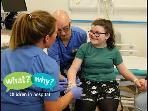 What happens when you get a cannula in hospital?