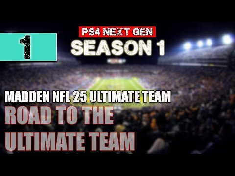 Madden NFL 25 PS4 Gameplay Ultimate Team - Ep.1 - Milk Shake - Madden 25 MUT