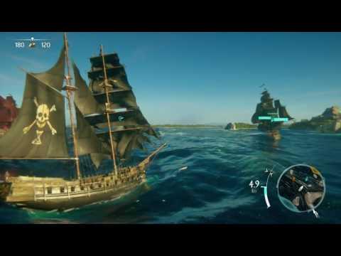Skull & Bones gameplay - Ubisoft @E3 2017