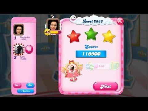 Candy Crush Saga 2888   |   3-Star ⭐⭐⭐   |   ONE TRY