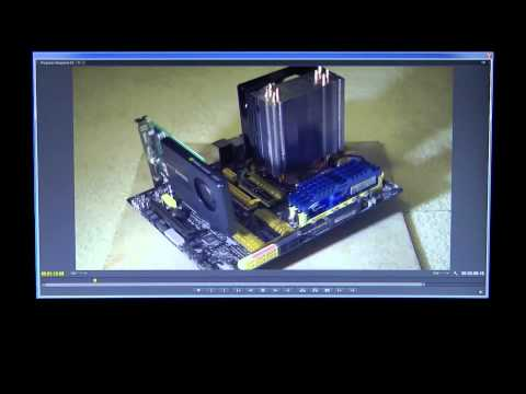 ASUS Z87 Golden Idol Video Dragster