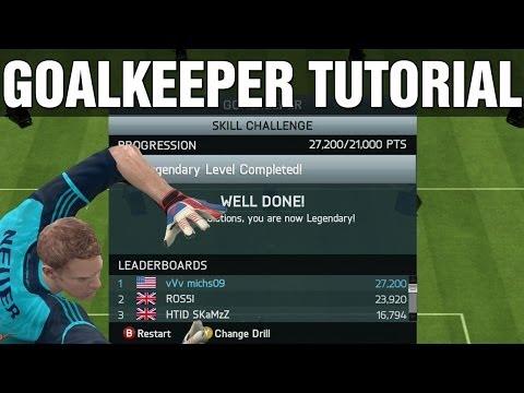 FIFA 14 Goalkeeper Skill Game Tutorial | Legendary Score (Tips & Tricks) - Best Guide / Clubs