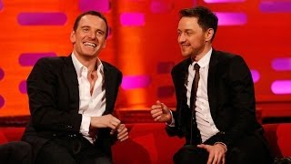 Michael Fassbender & James McAvoy