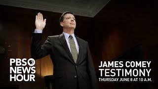 WATCH LIVE: James Comey testifies about Russian interference in U.S. election