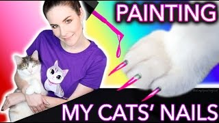Painting my Cats