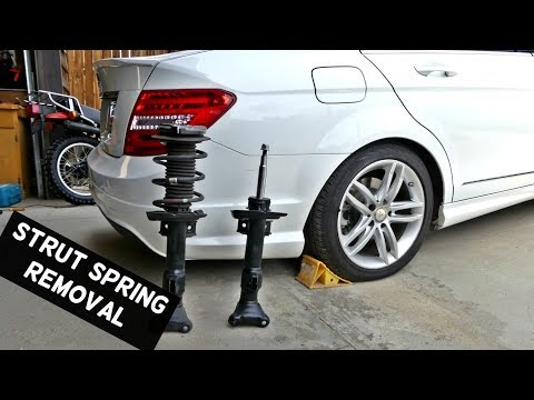 HOW TO REPLACE SPRINGS OR STRUTS SHOCKS