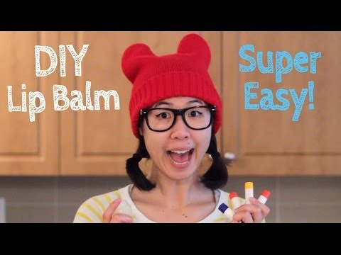 DIY Lip Balm (All-Natural and Super Easy!)