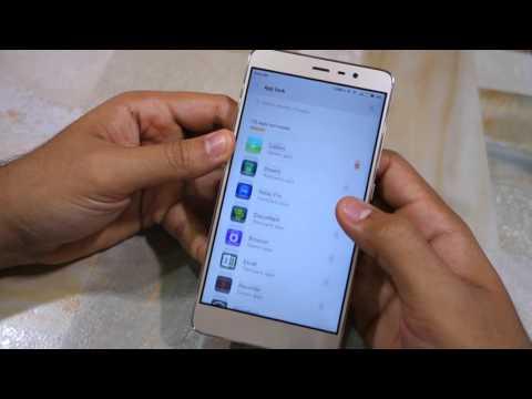 Xiaomi Redmi Note 3: How to lock/unlock apps using fingerprint scanner