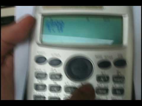 Casio FX 570 Calculator - Solve for x