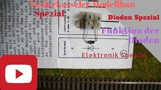 Spezial  Elektronik Dioden in der Modellbahn Modulanlage Signale für die Modelleisenbahn Anlage