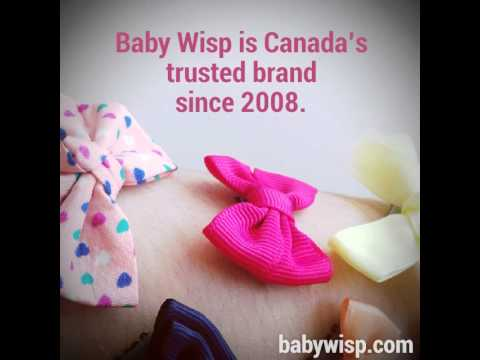 Baby Wisp Clips! Mini Latch Bows on Arm Hair Demo!
