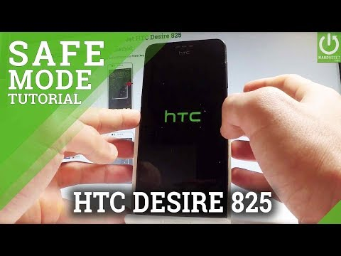 How to Open Safe Mode in HTC Desire 825 - Exit Safe Mode