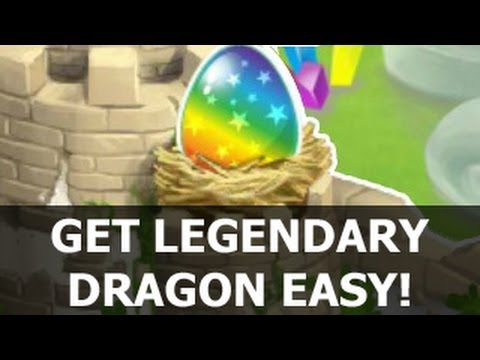 Dragon City HOW TO GET LEGENDARY Dragon by Breeding Guide Tutorial