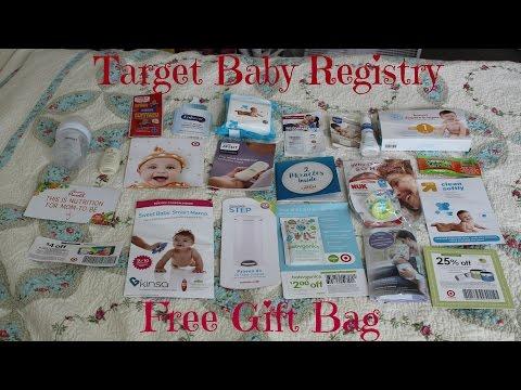 FREE BABY STUFF! Target Registry Gift Bag
