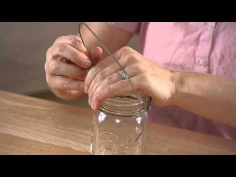 How to Hang Mason Jar Candles : Mason Jar Crafts & More
