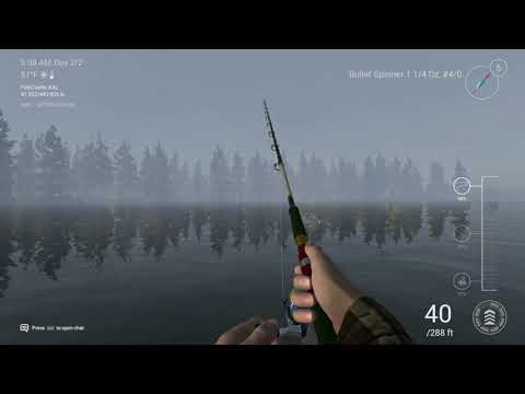 Fishing planet how to catch uni chinook on blue bullet spinner