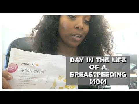 Day in the Life of a Breastfeeding Working Mom #MomLife