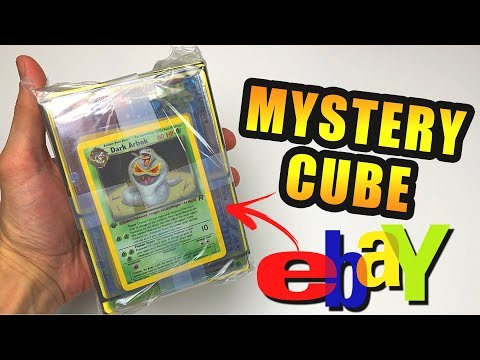 OPENING POKEMON MEGA EPIC MYSTERY CUBES FROM EBAY! (1st Edition Pokemon Cards!)