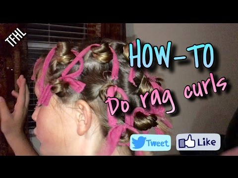 How to do Rag Curls