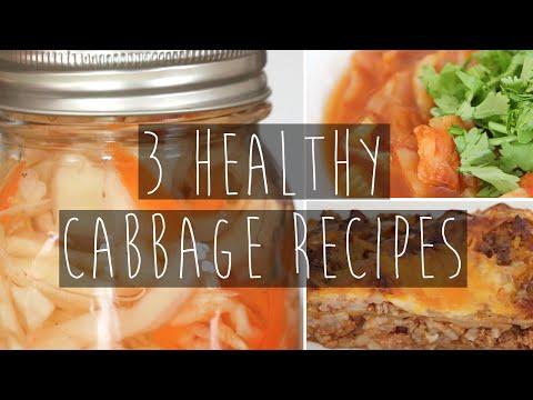 3 Easy & Healthy Cabbage Recipes | Soup, slaw, casserole | Eva Chung