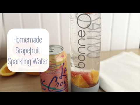Make a Grapefruit Infused Sparkling Water