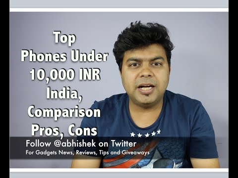 Hindi | GTU List, Best India Phones Under 10,000 INR, September 2016 | Gadgets To Use
