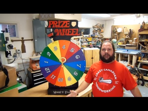 How To Make A Prize Wheel: Prize Spinner