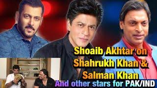 Shoaib Akhtar   Shahrukh Khan   Salman Khan   BolWasim  
