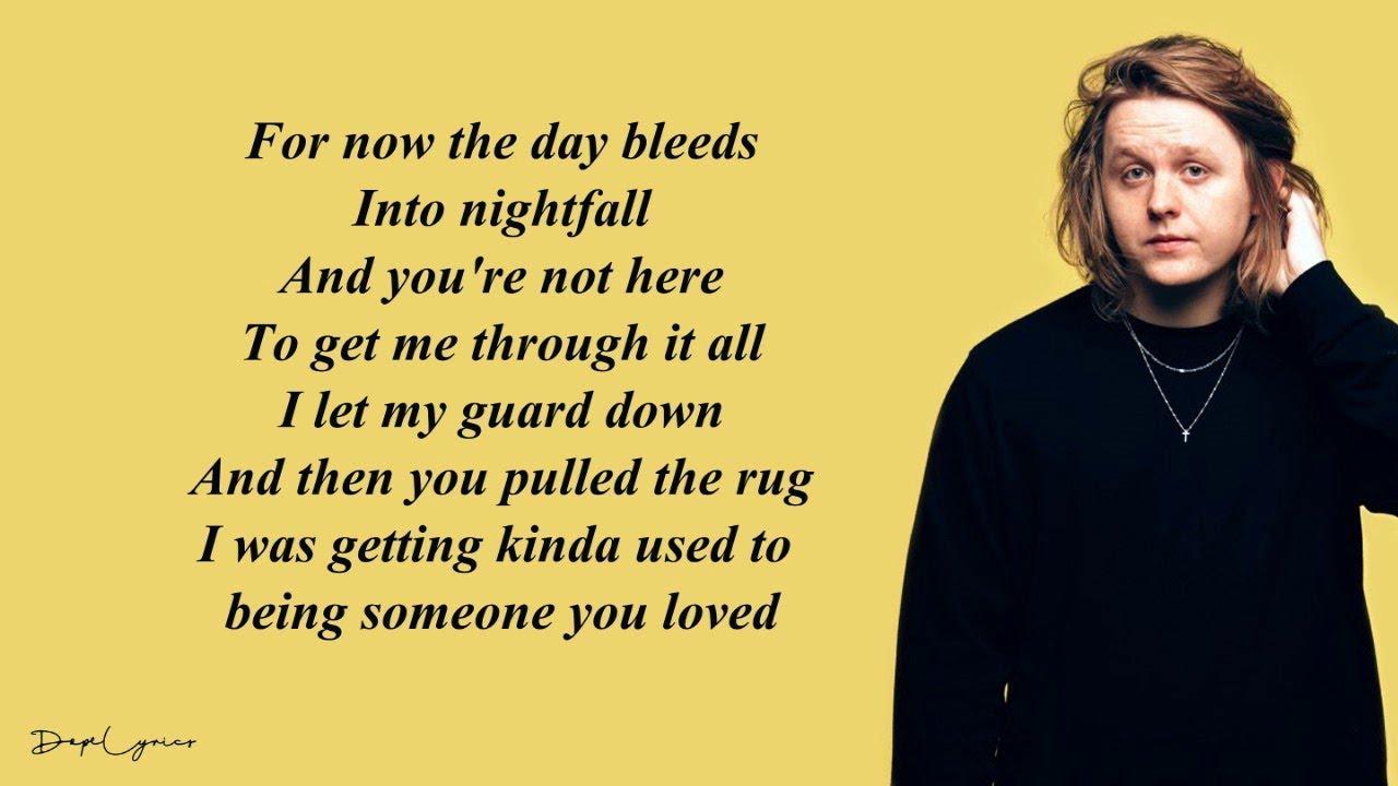 "Lewis Capaldi - Someone You Loved "" 🎵"