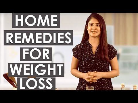 3 Fast & Easy HOME REMEDIES FOR WEIGHT LOSS (No Exercises)