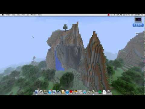 How to put a Minecraft screenshot as your screensaver on mac.mp4