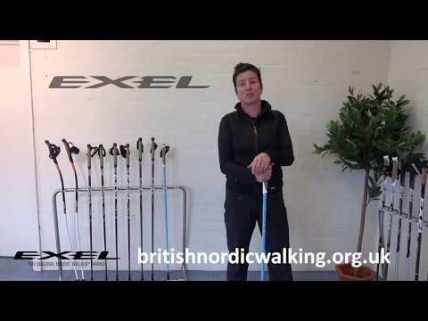 HOW TO GUIDE: Choosing the Correct Nordic Walking Pole Size