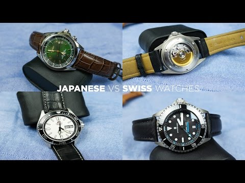 Japanese vs Swiss Watches | Are Swiss Made Watches Really Better?