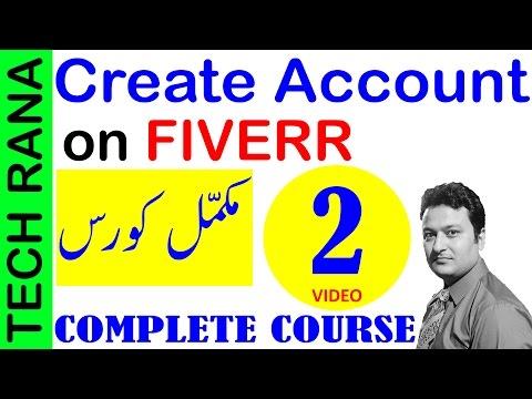 How to Create Account on Fiverr | Urdu Hindi | Video 2