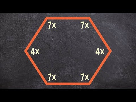 Finding the value of x using the interior sum theorem for a hexagon