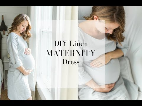 Maternity Dress DIY How to Make a Dress