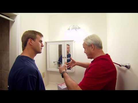 Replacing a Noisy Bathroom Vent Fan -- Danny Lipford