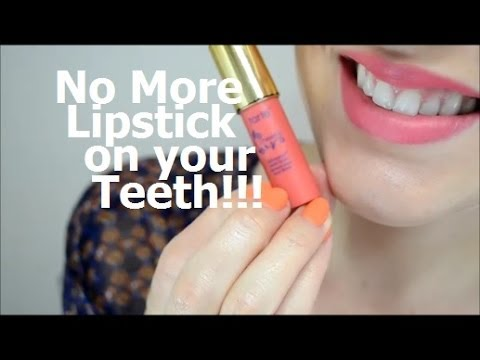 Prevent Lipstick on Your Teeth - Two Minute Tuesday