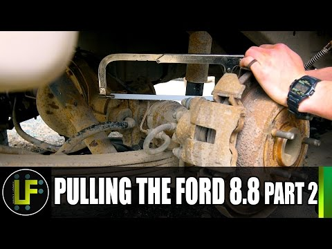 Rover 1 Project - Pulling the Ford 8 8 - Part 2
