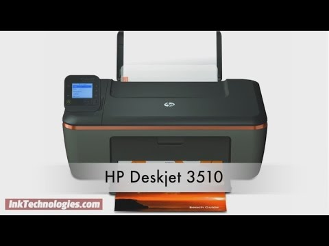 HP Deskjet 3510 Instructional Video
