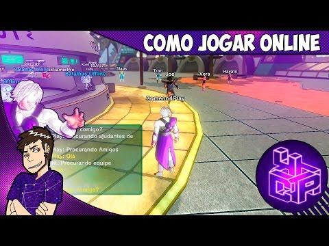 Dragon Ball XenoVerse # Como jogar online