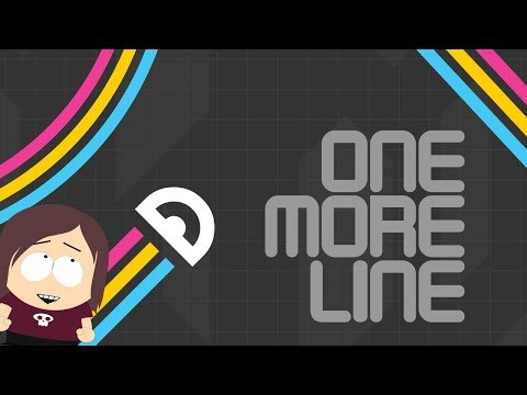 One More Line    Minimalist Arcade Game