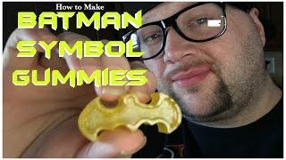 Download How to Make Batman Symbol Shaped Gummies Video
